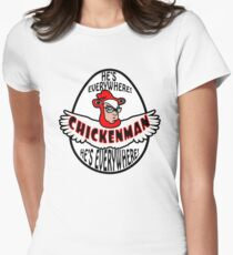 Chicken Man! Women's Fitted T-Shirt