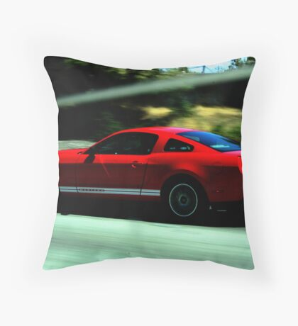 Mustang Pure Speed Throw Pillow