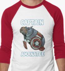 Captain Amanatee SALE! Men's Baseball ¾ T-Shirt