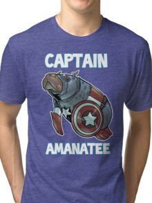 Captain Amanatee SALE! Tri-blend T-Shirt