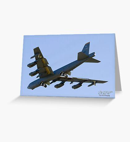 USAF Boeing B52H Stratofortress Greeting Card