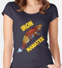 Iron Manatee SALE! Women's Fitted Scoop T-Shirt