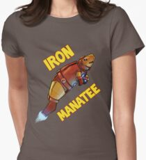 Iron Manatee SALE! Women's Fitted T-Shirt