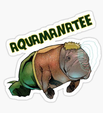 Aquamanatee Sticker
