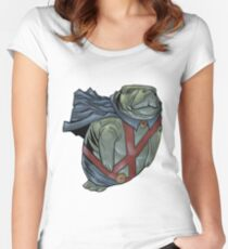 Martian Manatee Hunter SALE! Women's Fitted Scoop T-Shirt
