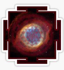 The Eye of God Yantra Sticker