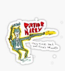 Dirtier Harry Sticker