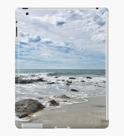 waiting for waves iPad Case/Skin
