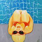 Poolside I by Eva Fritz