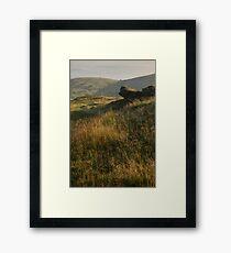 North Hill, The Malvern Hills Framed Print