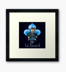 Le Renard Framed Print