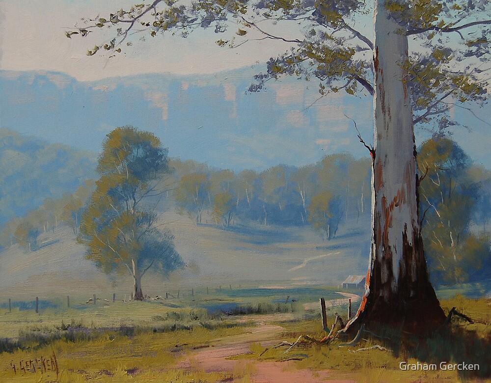 Valley Gum Tree by Graham Gercken