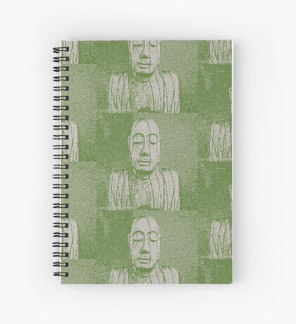 Karma in green Spiral Notebook