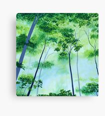 Glorious Green Canvas Print