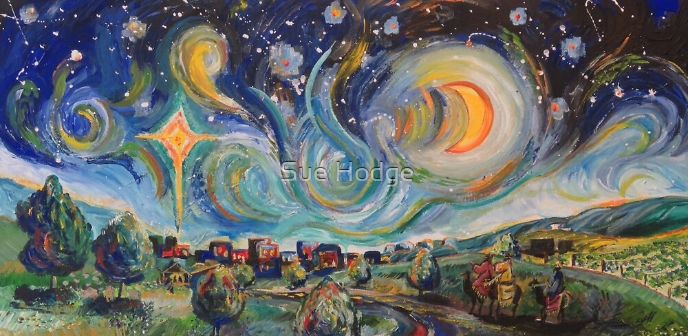 The Stars are Brightly Shinning by Sue Hodge