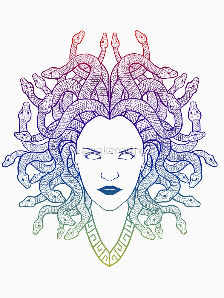 Medusa (colors) by elangkarosingo