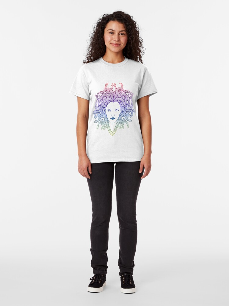 Alternate view of Medusa (colors) Classic T-Shirt