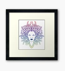 Medusa (colors) Framed Print