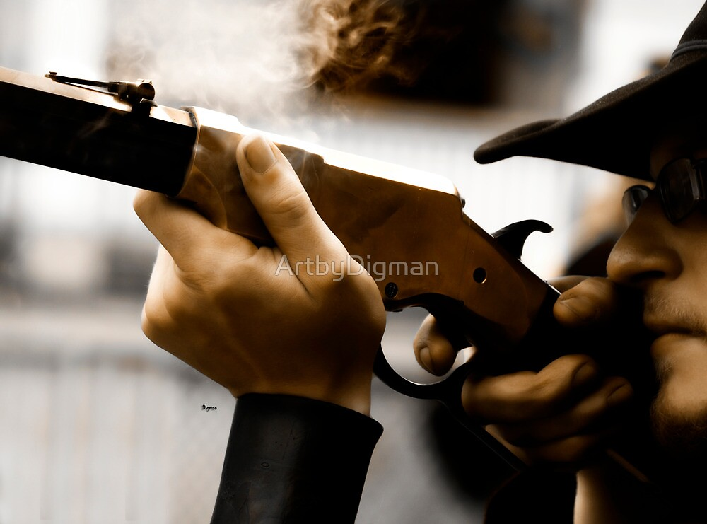 The Shooter  by ArtbyDigman