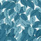 Blue Leaves by elangkarosingo
