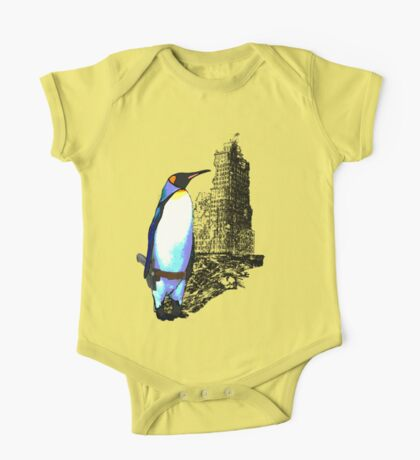 penguins win in the end Kids Clothes