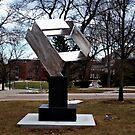 Silver Design, William Paterson University, Wayne NJ by Jane Neill-Hancock