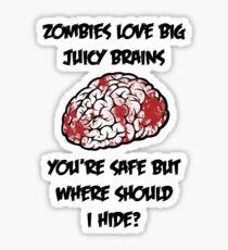 Juicy Brains Sticker
