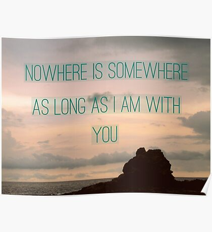 Somewhere With You Poster