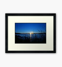 Sunset in Scotland Framed Print
