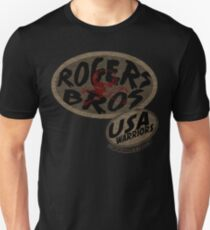 rogers bros warriors skull by ian rogers Unisex T-Shirt