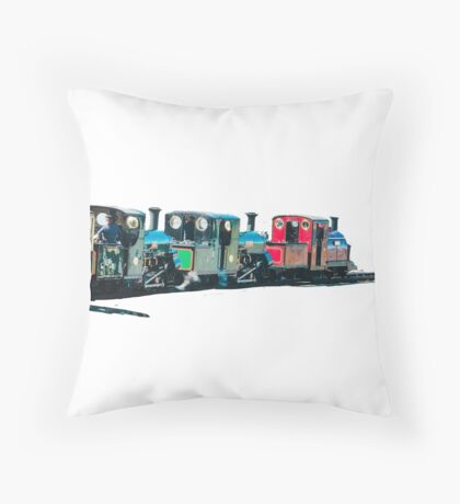 The Snowdonian by whacky Throw Pillow
