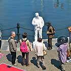 Plasterman #2, Victoria Harbour, BC, Canada.  by johnrf
