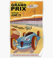 Mercury Travel Poster Poster