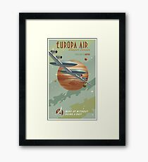 Jupiter Travel Poster Framed Print