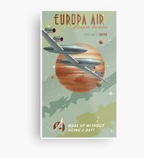 Jupiter Travel Poster Metal Print