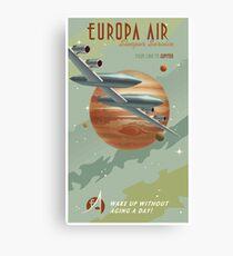 Jupiter Travel Poster Canvas Print