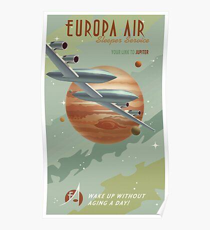 Jupiter Travel Poster Poster
