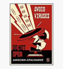Avoid Downloads Photographic Print