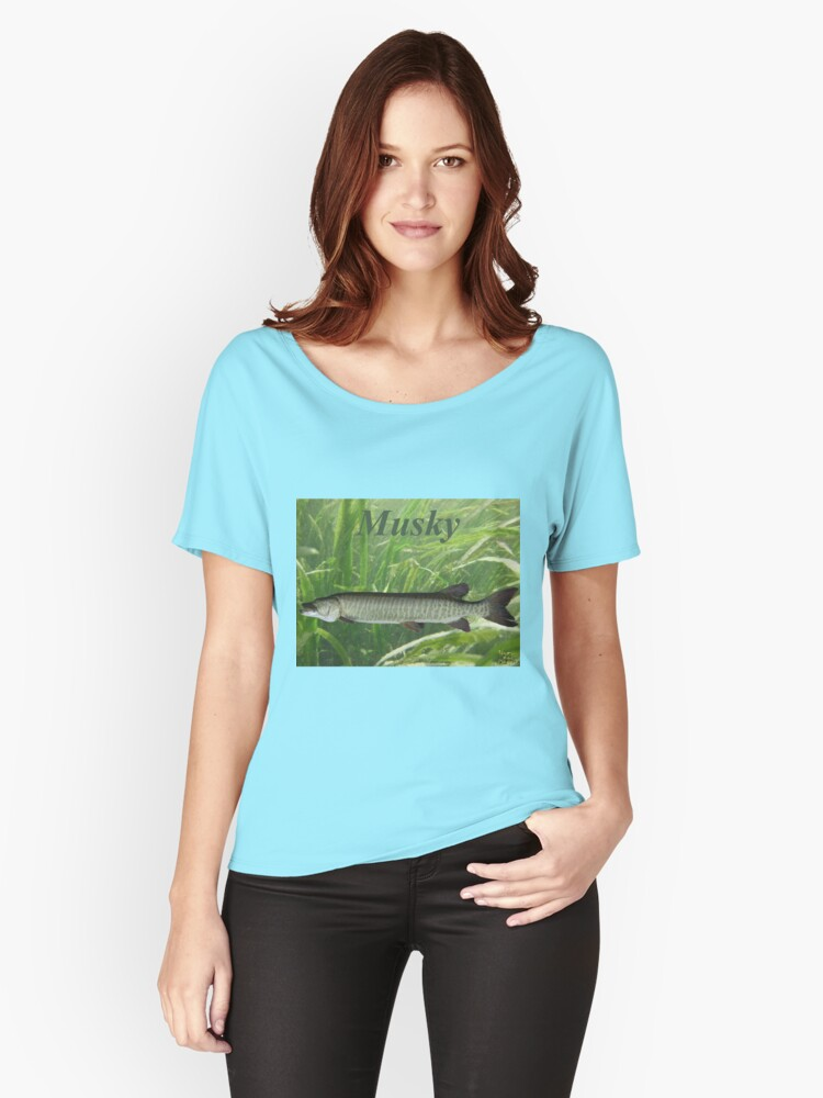 Musky Women's Relaxed Fit T-Shirt Front