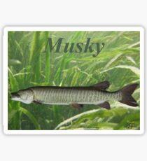 Musky Sticker