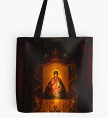 Our Lady Of Aglona Tote Bag