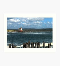 Coquille River Lighthouse Art Print