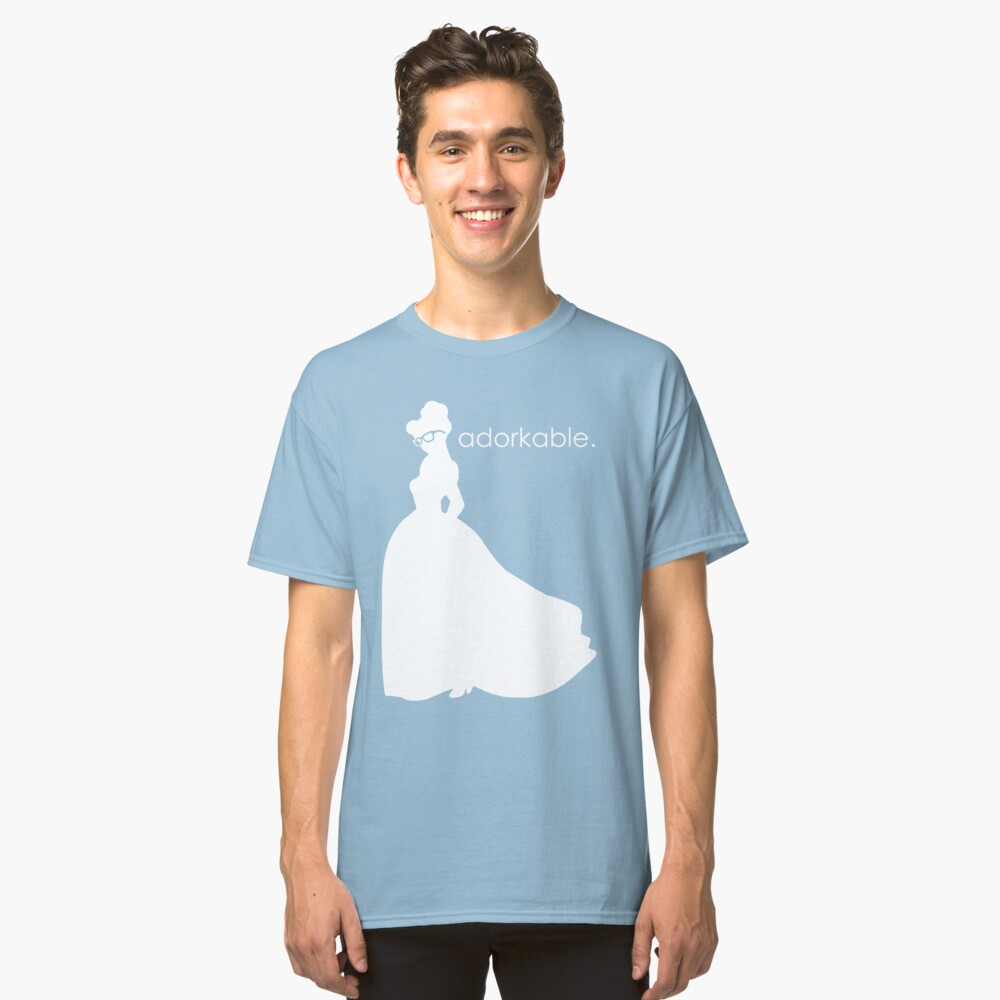 Adorkable Girl Classic T-Shirt Front
