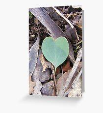 Love in the bush Greeting Card