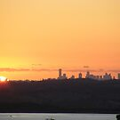Melbourne sunset by Lydia Heap