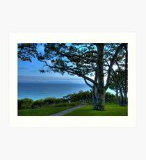 Rancho Palos Verdes Ocean View Art Print