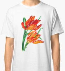 Parrot Tulips Classic T-Shirt