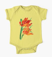 Parrot Tulips One Piece - Short Sleeve