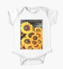 Sunflowers in Cortona, Tuscany, Italy Kids Clothes