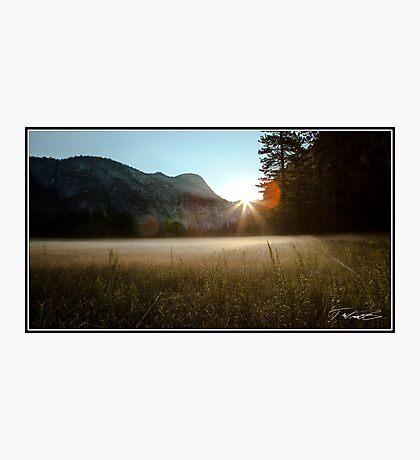 Yosemite Valley Sunrise Photographic Print